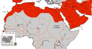 peta khalifah harun arrasyid
